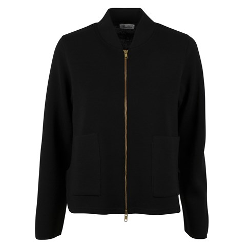 Alisa Knitted Merino Jacket Black