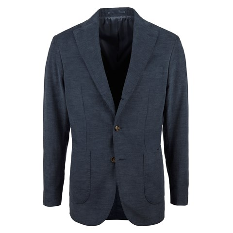 Blue Corduroy Cotton Blazer
