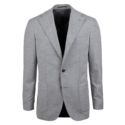 Light Grey Corduroy Cotton Blazer