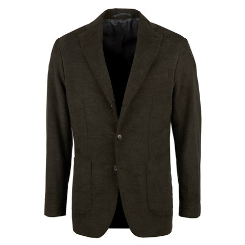 Forest Green Corduroy Cotton Blazer