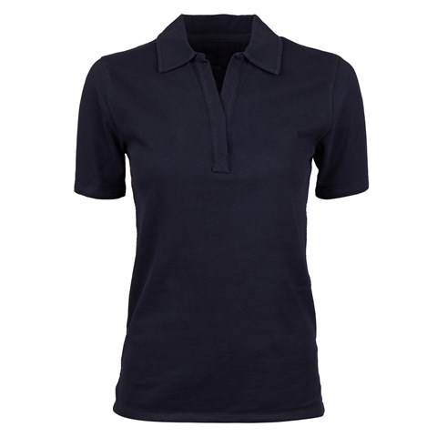 Navy Cotton Piquet