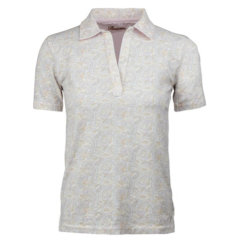 Paisley Piquet Top