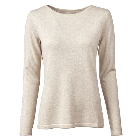 Sand Boat Neck Sweater
