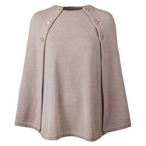 Mary Merino Cape Beige