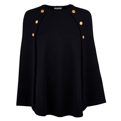 Mary Merino Cape Black