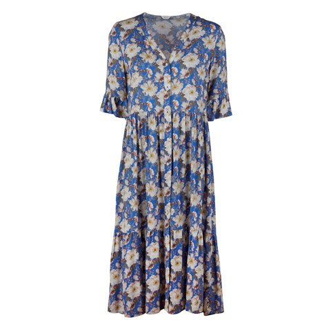 Angela Dress Blue Floral