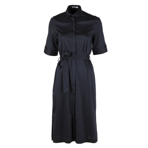 Simona Jersey Dress Navy