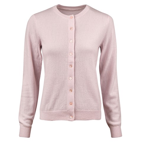 Light Pink Cashmere Cardigan