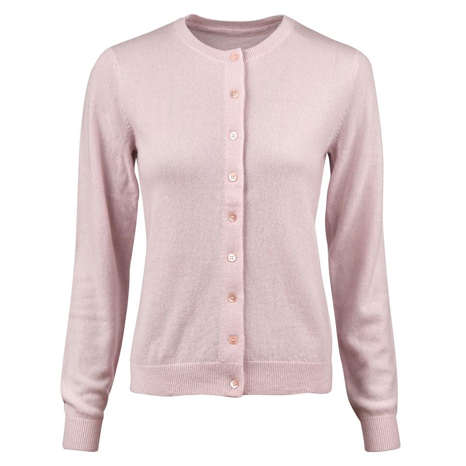020278db445 Light Pink Cashmere Cardigan