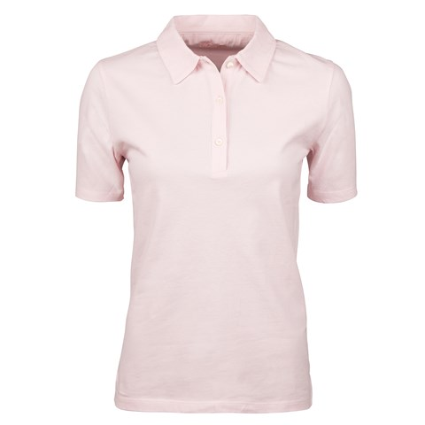 Pink Cotton Piquet With Buttons