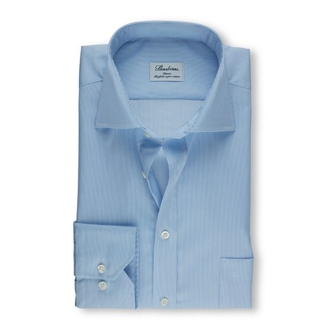 Blue Pinstriped Classic Shirt