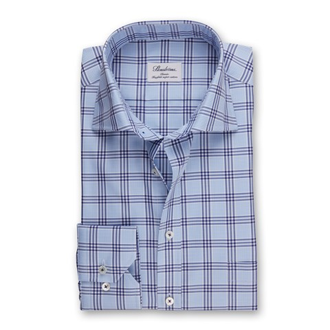 Blue Checked Classic Shirt