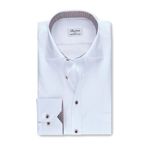 Classic Shirt w. Dotted Contrast