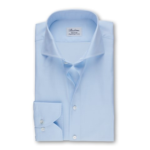 Light Blue Fitted Body Shirt