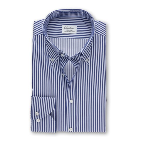 Striped Fitted Body Shirt