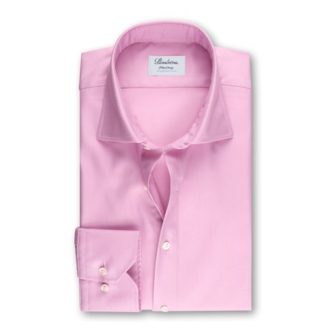 Pink Fitted Body Shirt, Twofold Stretch