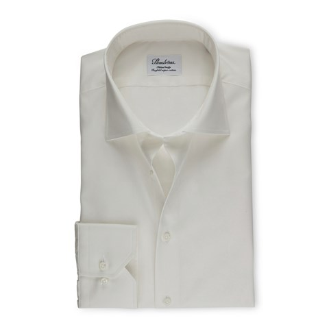 Off-White Fitted Body Shirt In Superior Twill