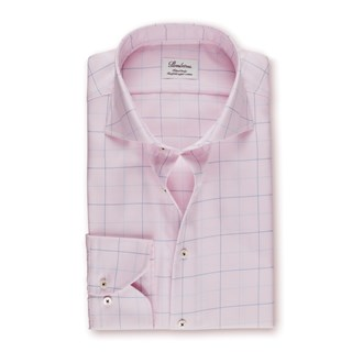 Light Pink Fitted Body Shirt