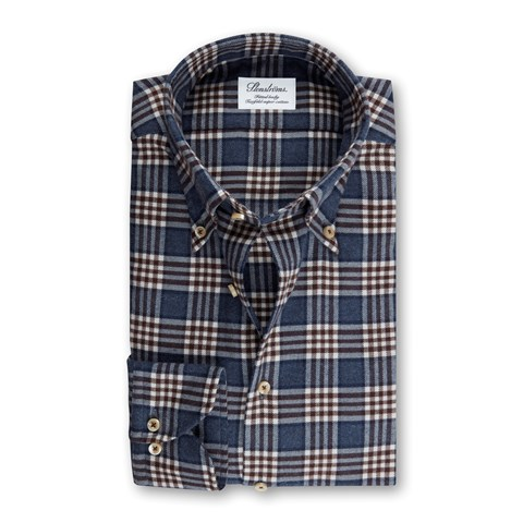 Checked Flannel Fitted Body Shirt