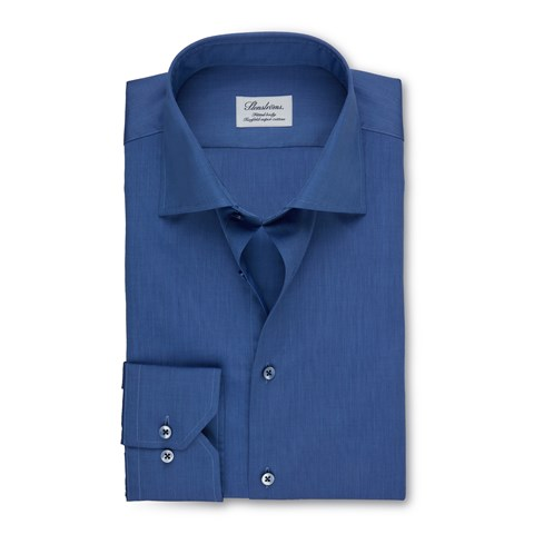 Marlin Blue Fitted Body Shirt
