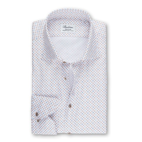 Mini Medallion Fitted Body Shirt