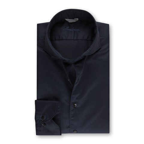 Casual Fitted Body Shirt Navy