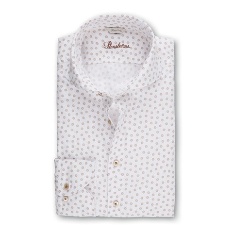 Patterned Fitted Body Casual Shirt