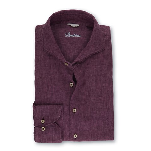 Fitted Body Linen Shirt