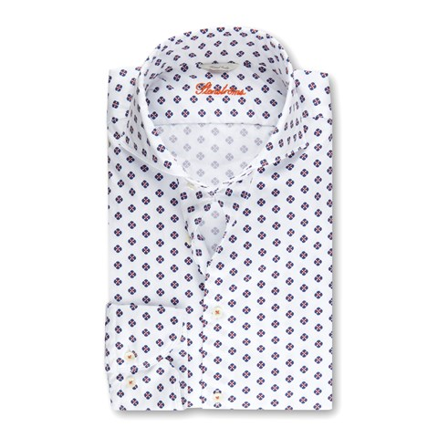 Casual Medallion Fitted Body Shirt