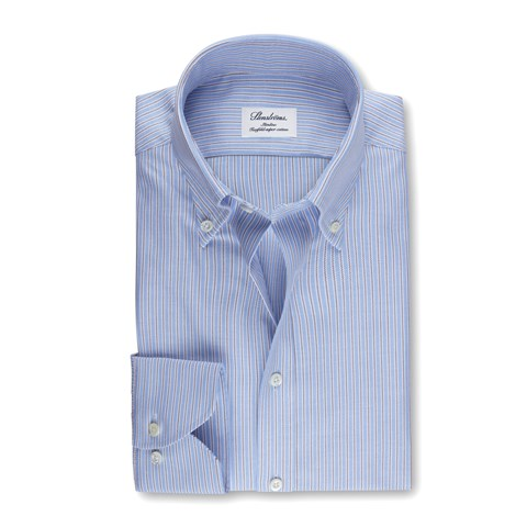 Striped Slimline Oxford Shirt