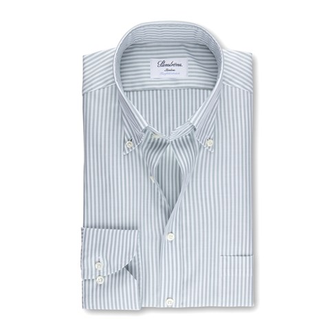 Striped Slimline Shirt, XL-sleeves