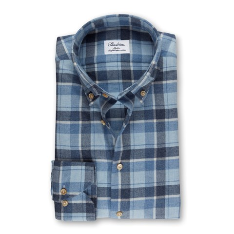 Check Slimline Shirt In Luxury Flannel