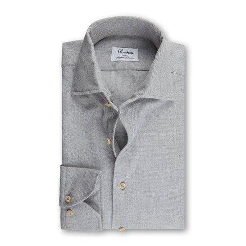 Grey Flannel Slimline Shirt