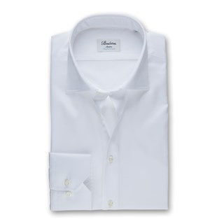 White Slimline Shirt, Stretch