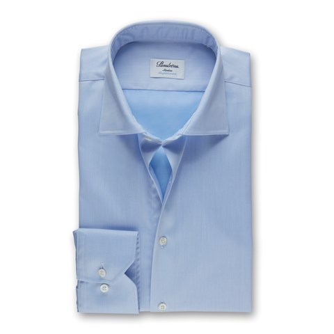 Light Blue Slimline Shirt, Stretch