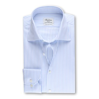 Slimline Shirt Striped, XL-sleeves