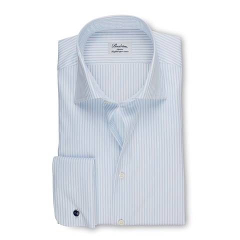 Slimline Shirt With French Cuffs