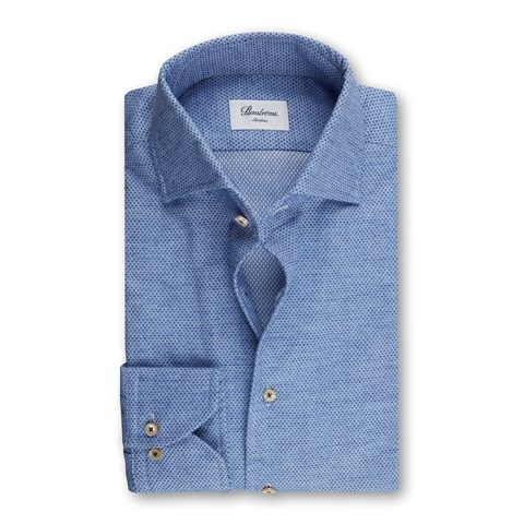 Blue Flannel Slimline Shirt