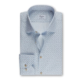 Slimline Shirt Leaf Pattern