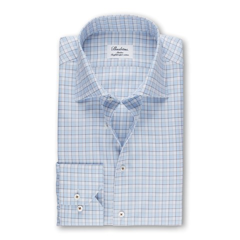 Checked Slimline Shirt