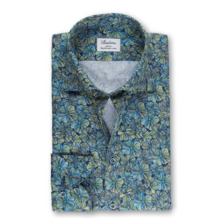 Tropical Flower Slimline Shirt