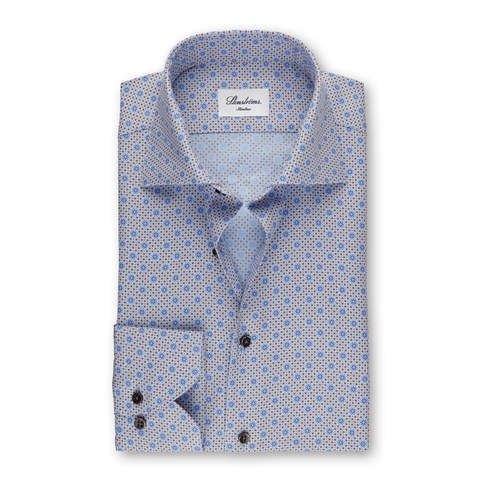 Micro Patterned Slimline Shirt