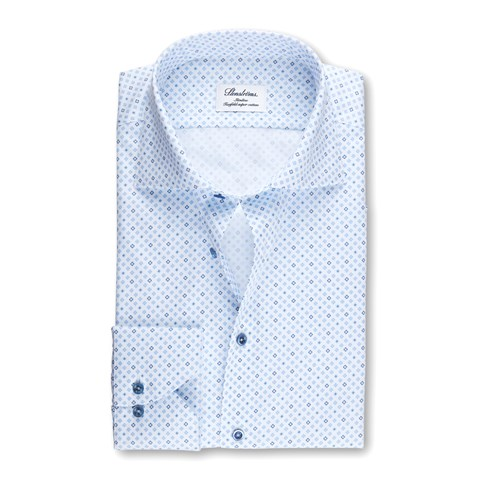 Medallion Slimline Shirt Blue/Navy