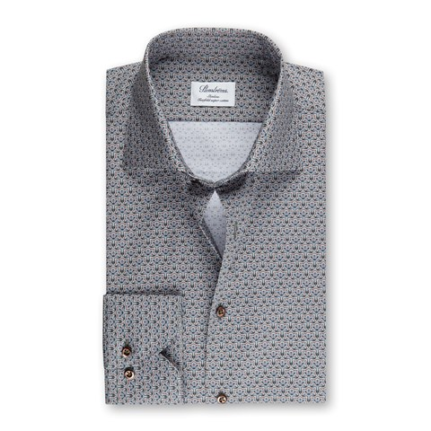 Green Medallion Slimline Shirt