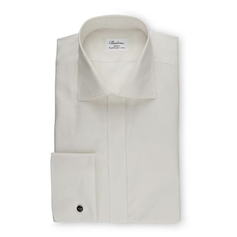 Off-White Slimline Shirt In Superior Twill