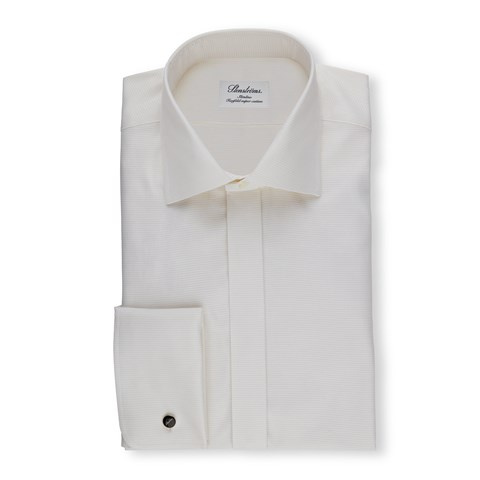 Off-White Slimline Evening Shirt