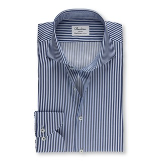 Blue Cadet Striped Slimline Shirt