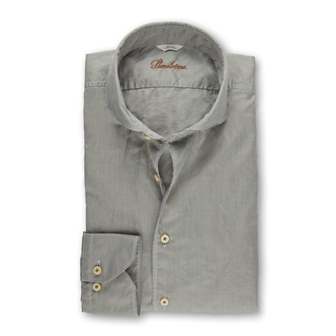 Light Green Casual Slimline Shirt