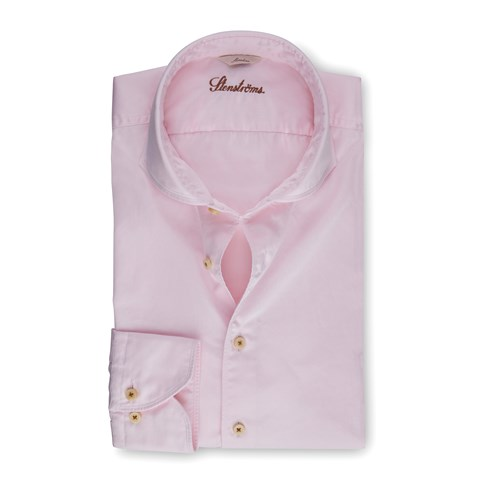 Light Pink Casual Slimline Shirt
