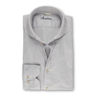 Light Grey Textured Casual Slimline Shirt